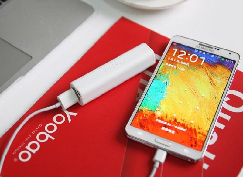 Power bank nam omogoča polnjene našega mobilnega telefona