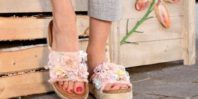 Ženska obutev - poletni natikači